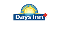 A brown and green house icon represents the d3h Home Inn & Suites corporate logo, with Home Inn & Suites displayed in white typeset.